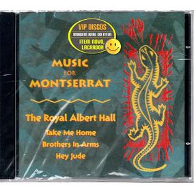 Cd Music For Montserrat Paul Mccartney Elton John Lacrado!!