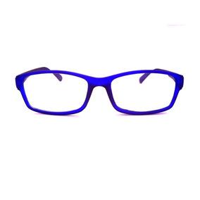 f72c616f969f6 Armacao Oculos Vermelho Bordo - Óculos Azul no Mercado Livre Brasil