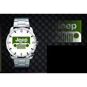 Relógio De Pulso Personalizado Jeep Willys 4x4 Off Road 002
