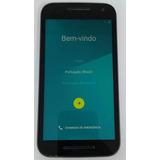 Motorola Moto G 3°ger Xt1543 16gb Original Preto Semi Novo