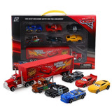 Cars Pixar Camión Mack Rayo Mcqueen + 6 Autos Envio Gratis