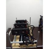 Mineradora Criptomoeda Rig - Farm Crypto - 5 Gpus