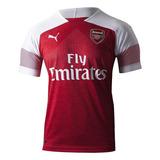 Camisa Original Do Arsenal Nova Puma Vermelha Branca Time