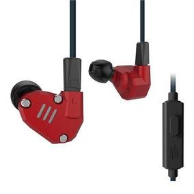Audifonos Kz Zs6 De 8 Bocinas Red + Modulo Bluetooth