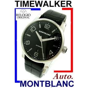 Montblanc Timewalker Auto Black 42 Mm Ref. 7070 !