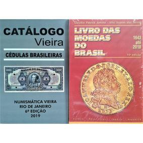 1 Catalogo De Moedas E 1 Catalogo De Cédulas Novos Lançament