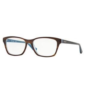 eed600e8c2577 Oculos Grau Vogue Azul - Óculos no Mercado Livre Brasil