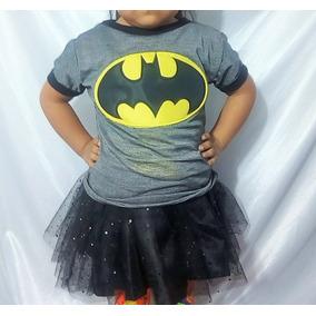 Playera Niña Niño Charmander Batman Dragon Ball Picachu 1neg