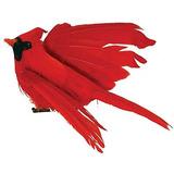 Paquete De 12 Pájaros Cardenales Artificiales Volando De Ro