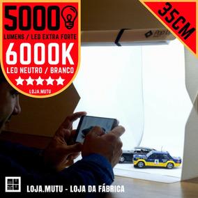 Caixa Para Fotos Em Miniaturas 35x35cm Led 5600 Lumens