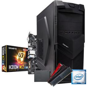 Cpu Bg3521 Pentium Gold G5400 H310m M2 4gb Ssd 120gb 350w