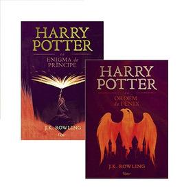 Kit 2 Livros Harry Potter J.k. Rowling Rocco Edição 2015