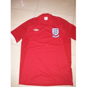 Camiseta Suplente Inglaterra Edicion Especial Mundial 2010 L
