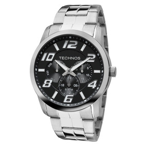 Relógio Technos Masculino Classic Sport Aço Inoxidável