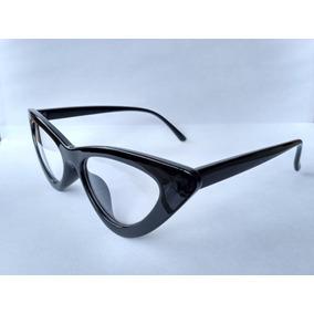 1d0ad0407b340 Armação Óculos Gatinho Anos 80 Puxadinho + Case Caixinha