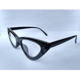 d2b0f16889d25 Armacao Óculos Gatinho Anos 70 Puxadinho + Case Caixinha