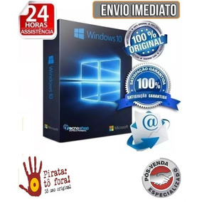 Windows 10 Pro Key Serial 32/64bits Envio Rápido