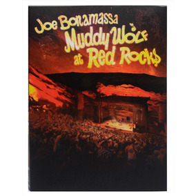 Dvd Joe Bonamassa - Muddy Wolf At Red Rocks - Duplo Digipack