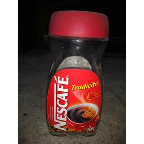 Vidro De Nescafe 200ml Vazio