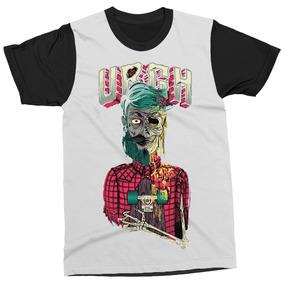 5a0ac8dcc46f0 Camiseta Zumbi Skatista Urgh Camisa Masculina Blusa Estampa