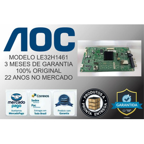 Placa Principal Tv Aoc Le32h1461/20 Le32h1461
