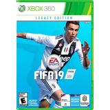 Fifa 19 En Xbox 360 Nuevo Y Sellado.