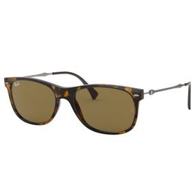 Oculos Sol Ray Ban Rb4318 710 73 55 Marrom Havana L Marrom 558710b4f7