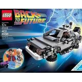 Lego Cuusoo El Tiempo Delorean Maquina Set De Juegos