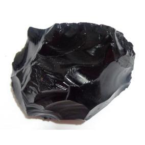 Obsidiana Negra Bruta - K0377 - Prosperity Minerais