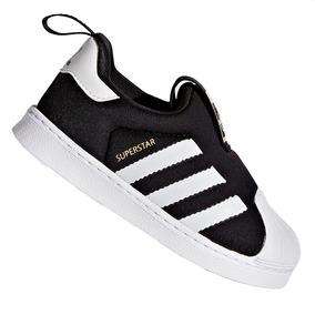 b96da2a9edb Tênis adidas Slip-on Superstar Originals 360 Preto S82711