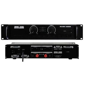 Amplificador Potência Mark Audio Mk1200 200w Loja Kadu Som