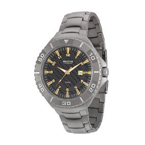 Relógio Masculino Seculus Analógico Calendário 20289g0svnt1