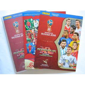Adrenalyn Copa Rússia 2018 Coleção Com 288 Cards Na Pasta