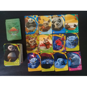 Tarjetas Kung Fu Panda Imagics Colección Completa