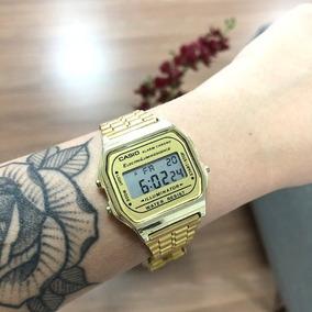 bc71deb6b6e Relogio Casio Dourado - Relógio Casio no Mercado Livre Brasil