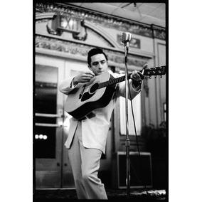 Poster Johnny Cash Impressão Laser A3 - 009