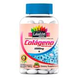 Colageno Hidrolisado Puro 180 Tabletes 1000mg Lauton