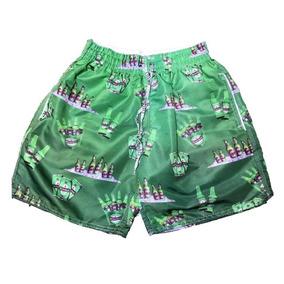 f910932d4 Bermuda Com Desenho De Dolar - Shorts no Mercado Livre Brasil