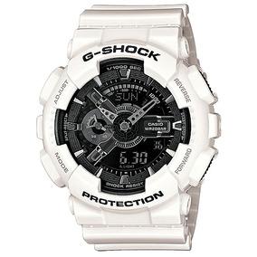 797afd9668c Relogio G Shock Quadrado Branco Unissex Casio - Relógios De Pulso no ...