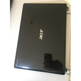 Tampa Tela + Par De Dobradiças Notebook Acer Aspire 4553