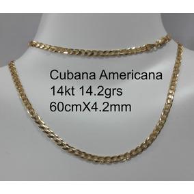 09685eb0d768 Cadena Cubana Oro 14k - Collares y Cadenas en Mercado Libre México