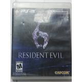 Resildent Evil 6 Para Ps3