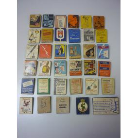 Caixa De Fósforo Antigas Anos 40/50 - Nacionais