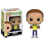 Funko Pop Rick And Morty Morty 113 Nuevo Original Stock