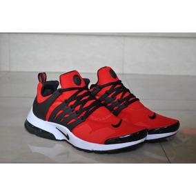 super popular 0125d 59fb3 Kp3 Zapatos Caballeros Nike Air Presto Clasico Rojo   Blanco