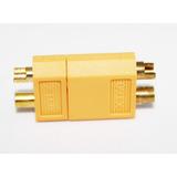 Conector Xt60 Macho Y Hembra Alta Calidad (amarillo)