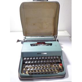 Maquina Escrever Olivetti Lettera 32 C/ Case - Leia Anuncio