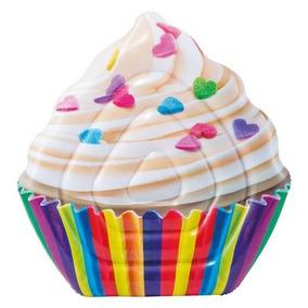 Colchoneta Inflable Cupcake Intex - 135x142