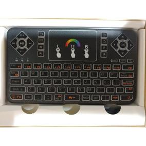 Mini Teclado Sem Fio Q9 Led Colorido Pc, Smartv, Tv Box Novo