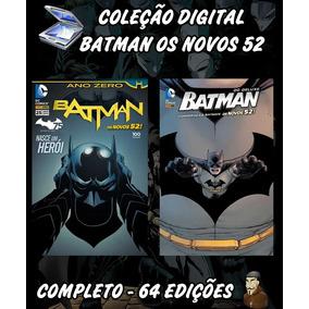Coleção Digital Batman Os Novos 52 - 64 Edições - Cbr